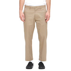 Obey Straggler Flooded Pants Khaki