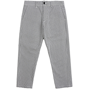 Obey Straggler Houndstooth Pants White Multi