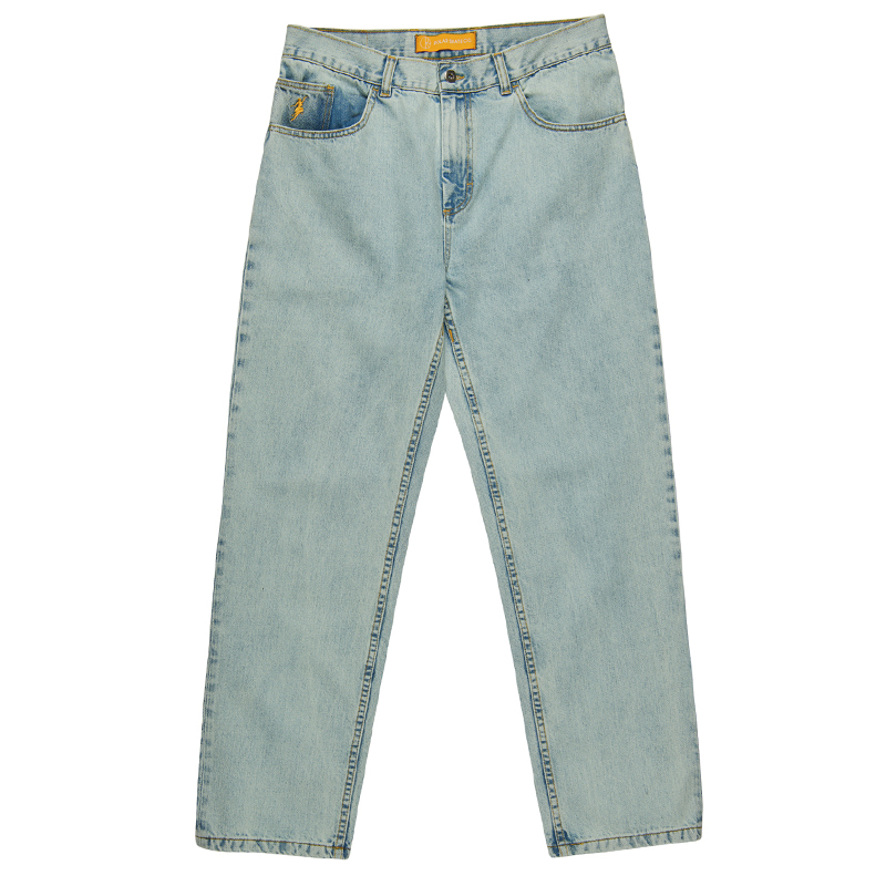 Polar 90's Denim Pants Light Blue