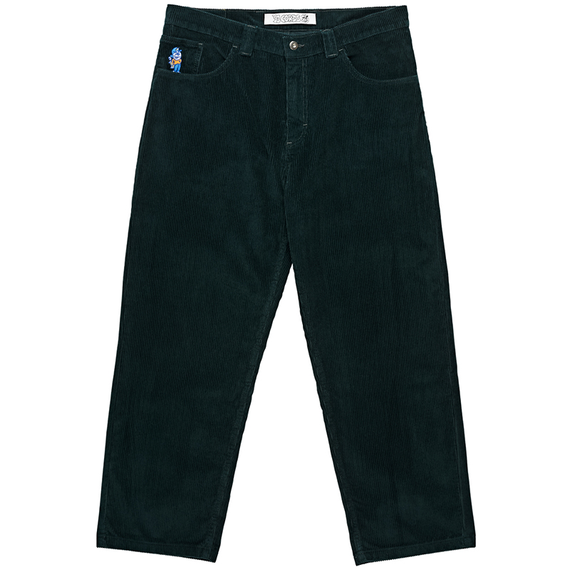 Polar 93 Cords Pants Dark Teal