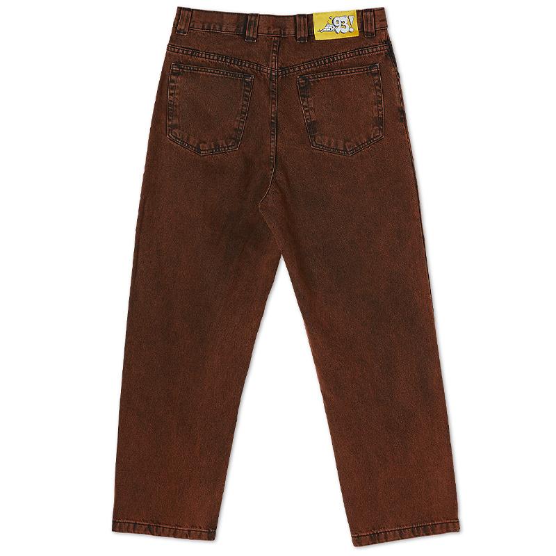 Polar 93 Denim Pants Orange Black