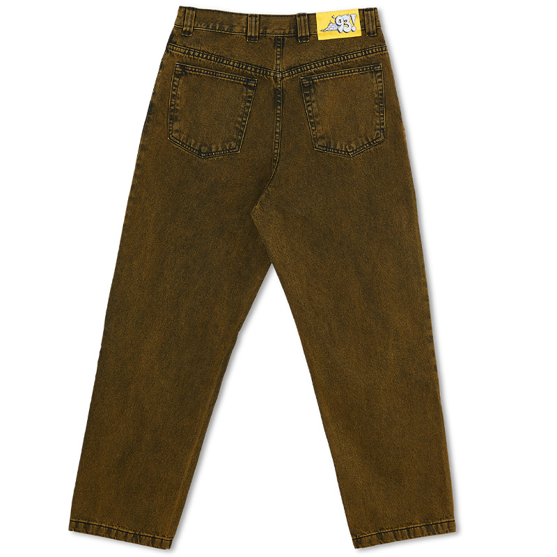 Polar '93 Denim Pants Yellow Black