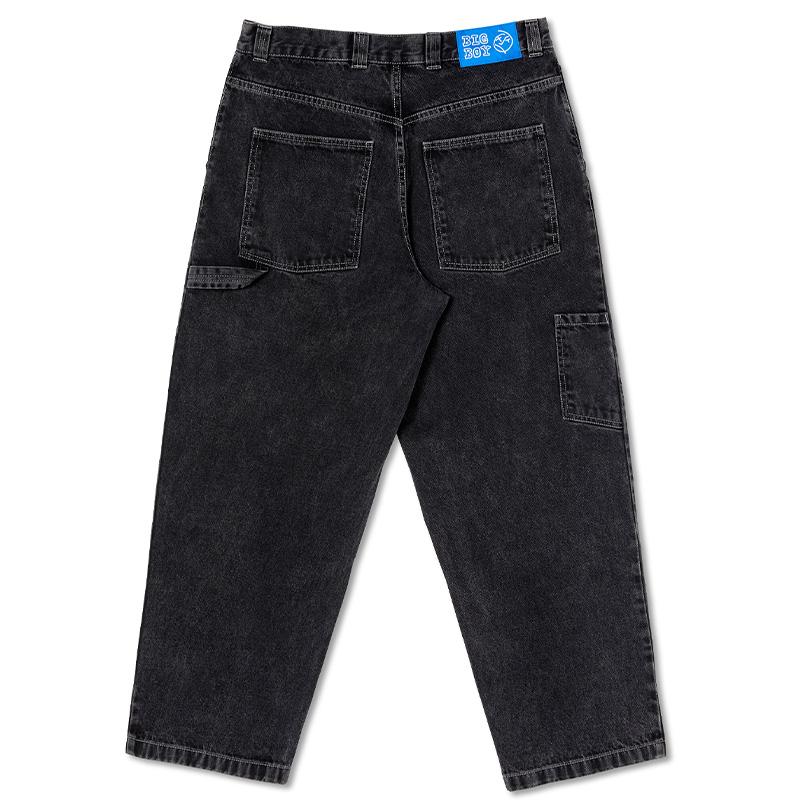 Polar Big Boy Work Pants Washed Black