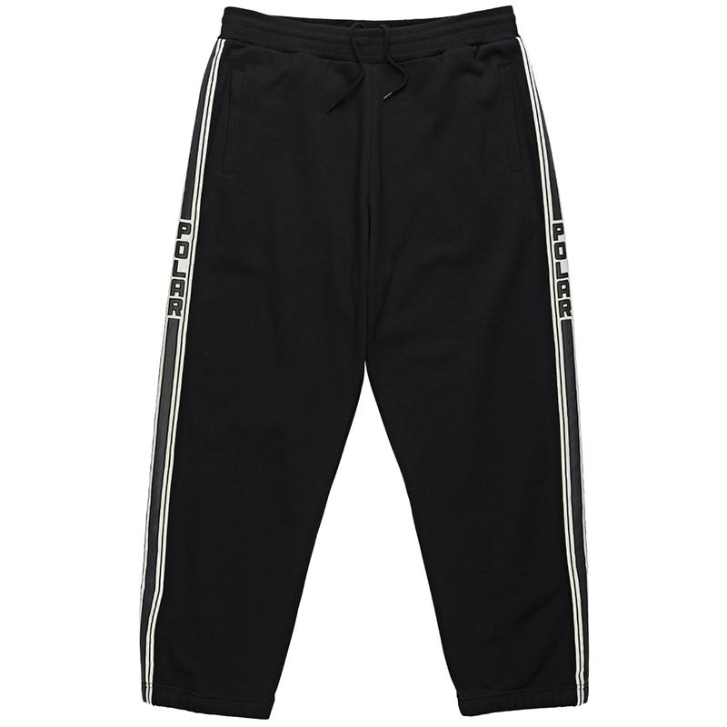 Polar Tape Sweatpants Black