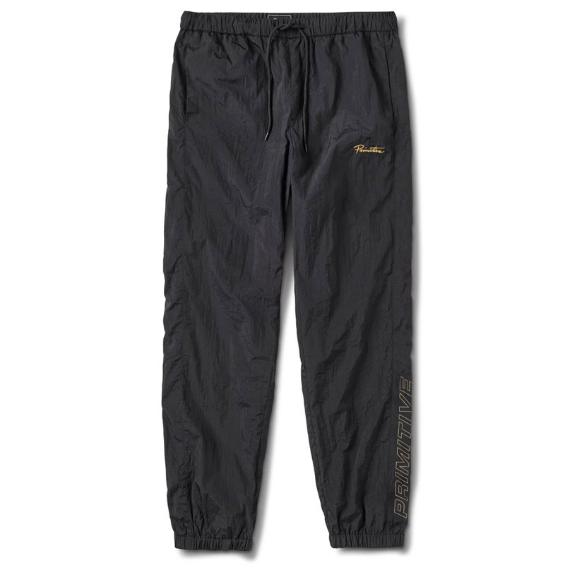 Primitive Gold Pack Nylon Pants Black