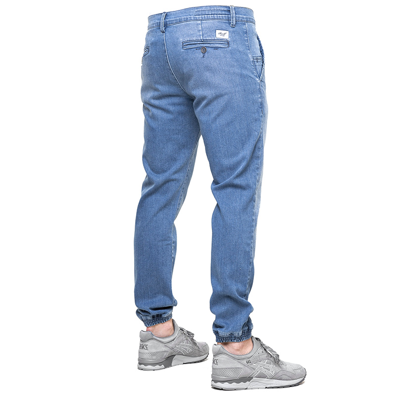 Reell Jogger Pants Mid Blue Wash