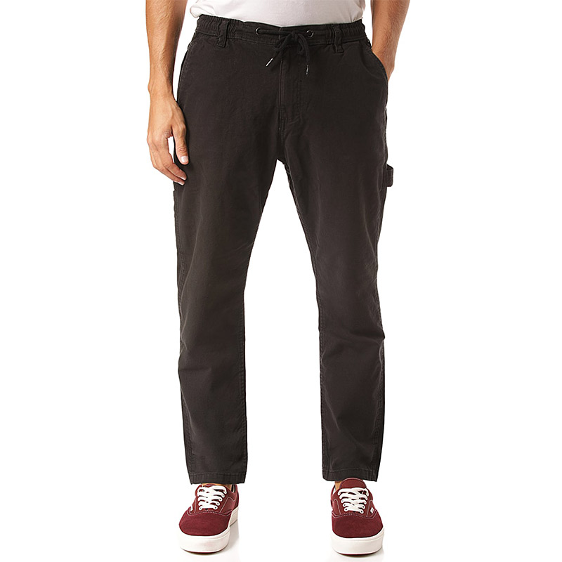 Reell Reflex Worker Pants Black Canvas