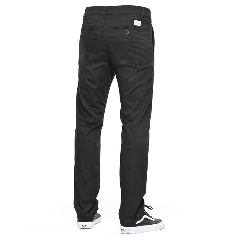 Reell Straight Flex Chino Pants PC Black