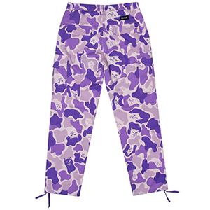 RIPNDIP Nermal Camo Cargo Pants Purple