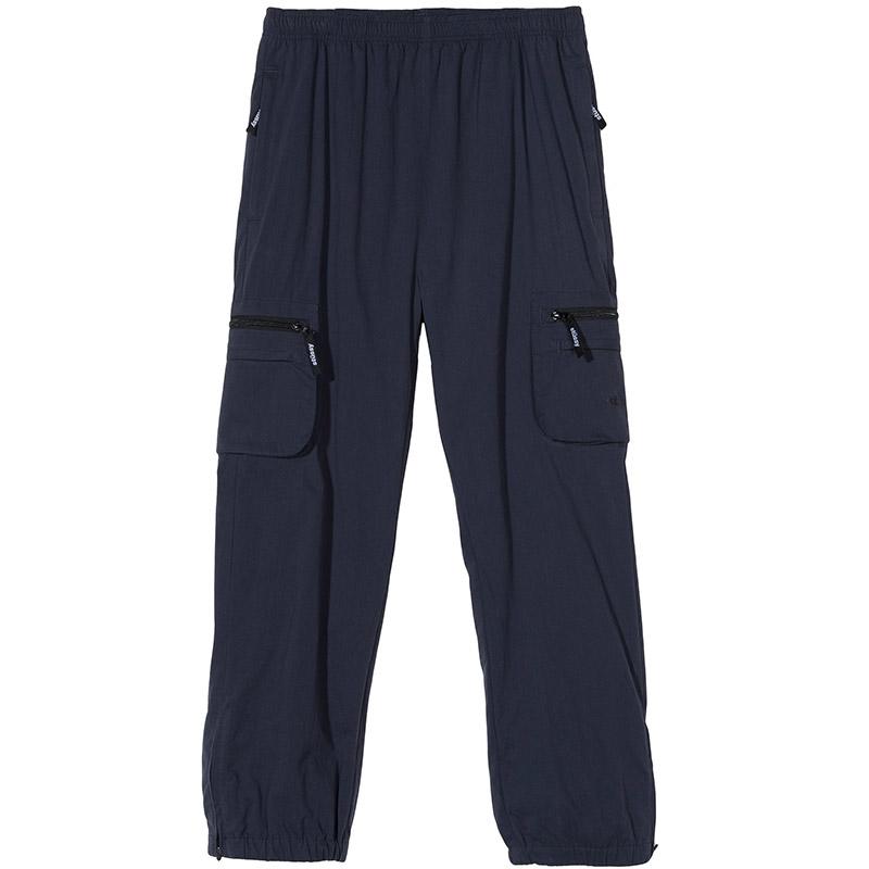 Stussy Big Pocket Nylon Pants Navy