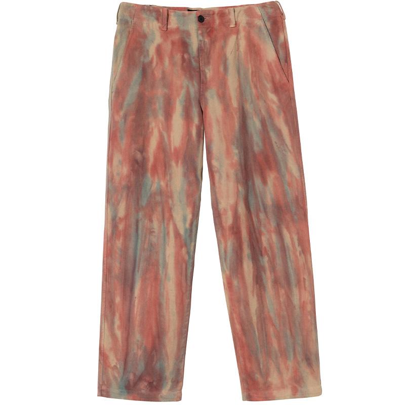 Stüssy Dyed Uniform Pants Rust