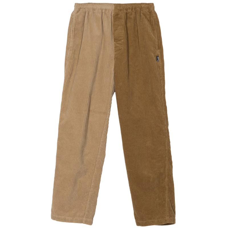 Stussy Mix Up Cord Beach Pants Brown