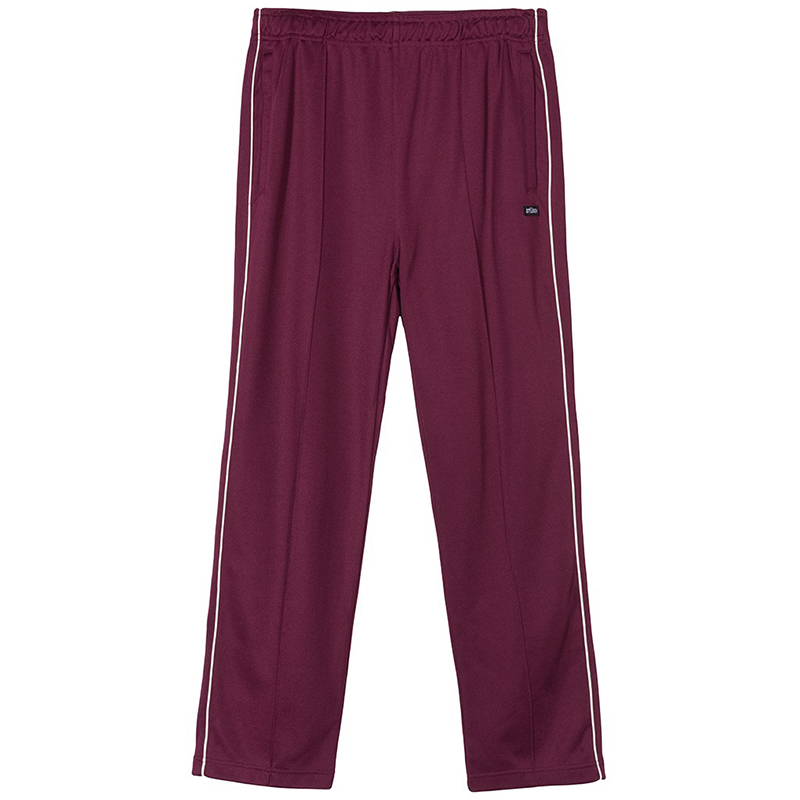 Stussy Poly Trackpants Berry