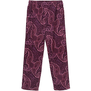 Stussy Side Piping Cord Pants Burgundy