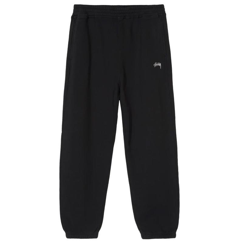 Stussy Stock Logo Pants Black