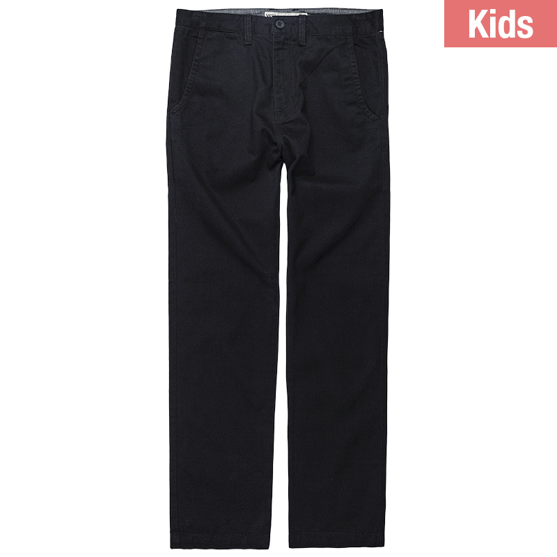 Vans Boys Excerpt Chino Pants Black