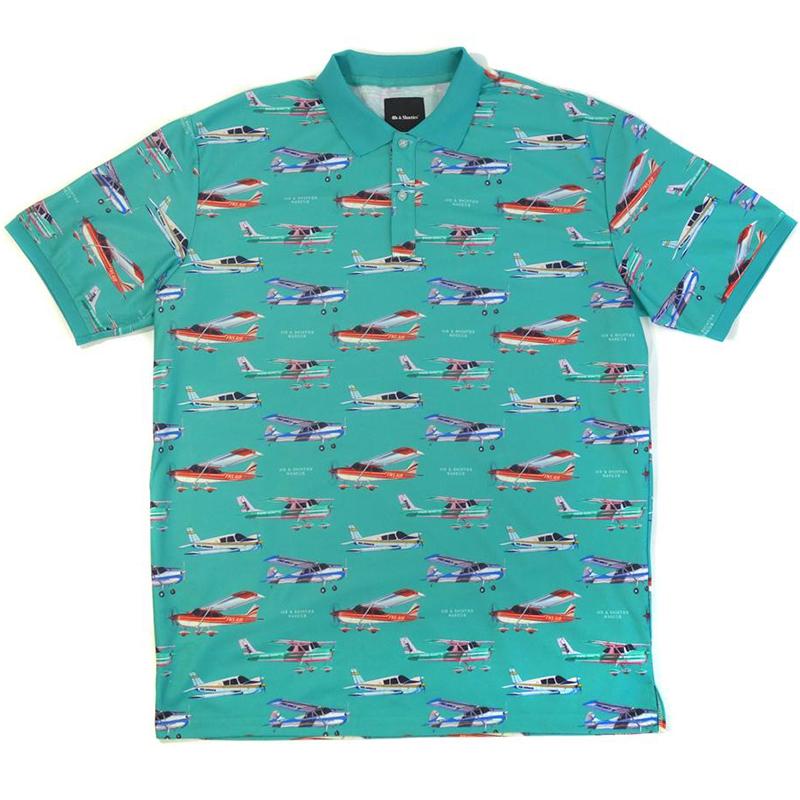 40s & Shorties x Narcos Transport Polo Shirt Teal