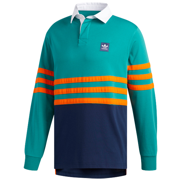 adidas Winchell Polo Actgrn/Conavy/Orange