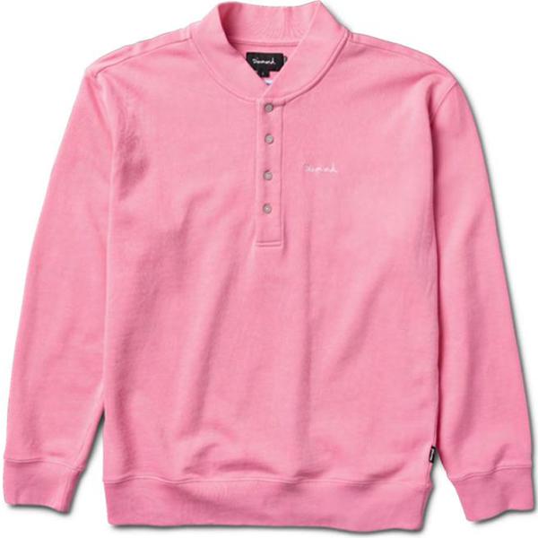 Diamond Sawyer Longsleeve Polo Pink