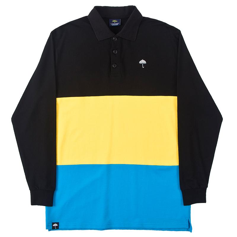 Helas Bahames Longsleeve Polo Black