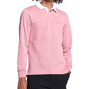 Nike SB Dry Polo Elemental Pink/White
