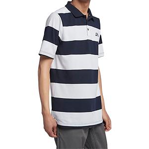 Nike SB Lo Stripe Dry Pullover Polo Obsidian/Obsidian