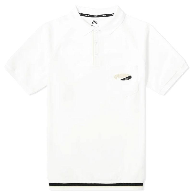 Nike SB Polo White/Fossil