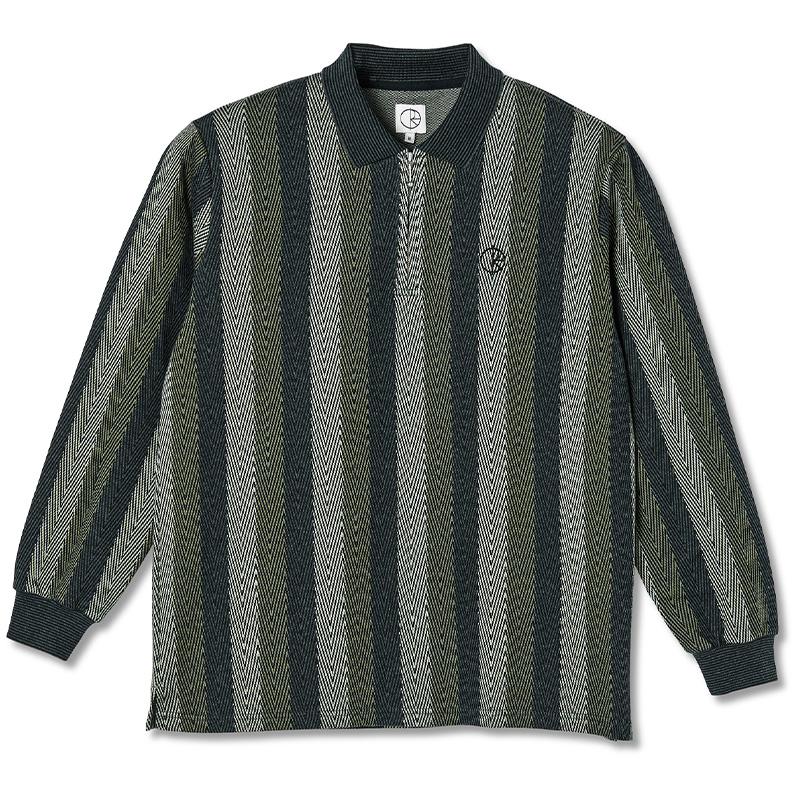 Polar Jacques Longlseeve Polo Shirt Khaki