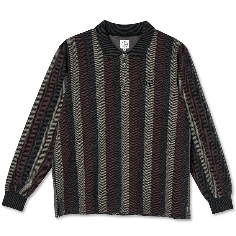 Polar Jacques Longsleeve Polo Shirt Multi