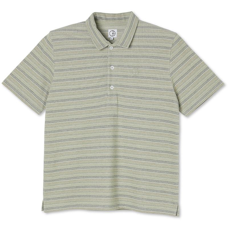 Polar Multistripe Polo Shirt Green
