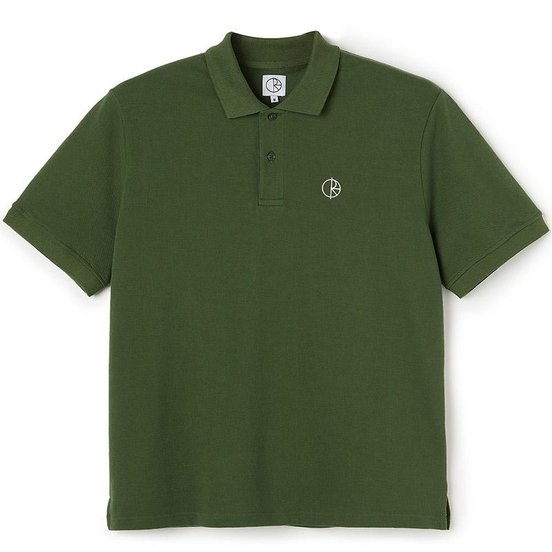 Polar Pique Shirt Hunter Green