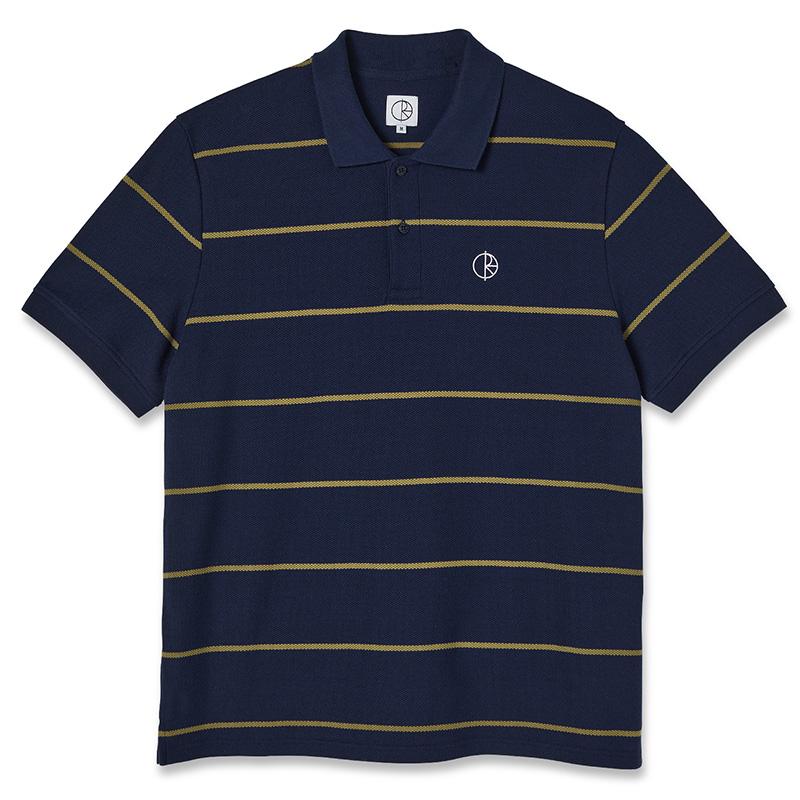 Polar Stripe Polo Shirt Rich Navy