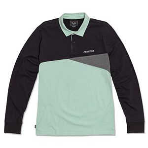 Primitive Union Longsleeve Rugby Polo Mint