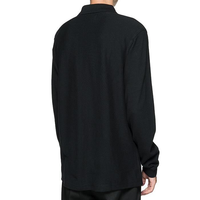 c1f6950b Stussy Simon Longsleeve Zip Polo Black. undefined. Loading zoom