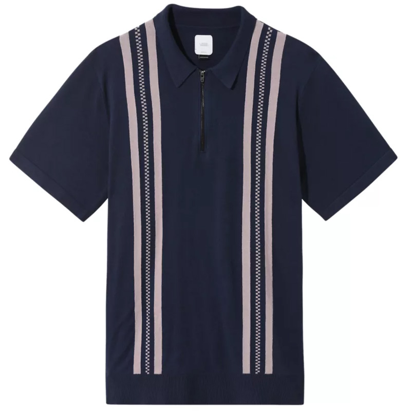 Vans Ridgeway Sweater Polo Dress Blues