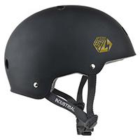 Industrial Certified Helmet Chocolate Brown/Gold