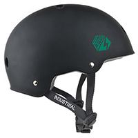 Industrial Certified Helmet Black/Green