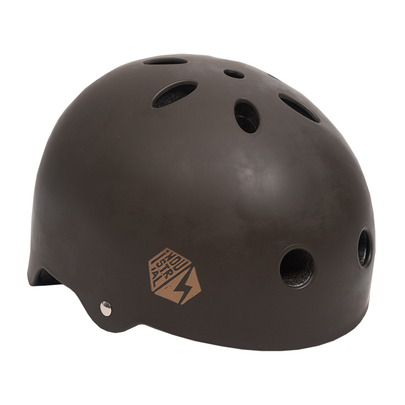 Industrial Certified Helmet Chocolate Brown/Gold