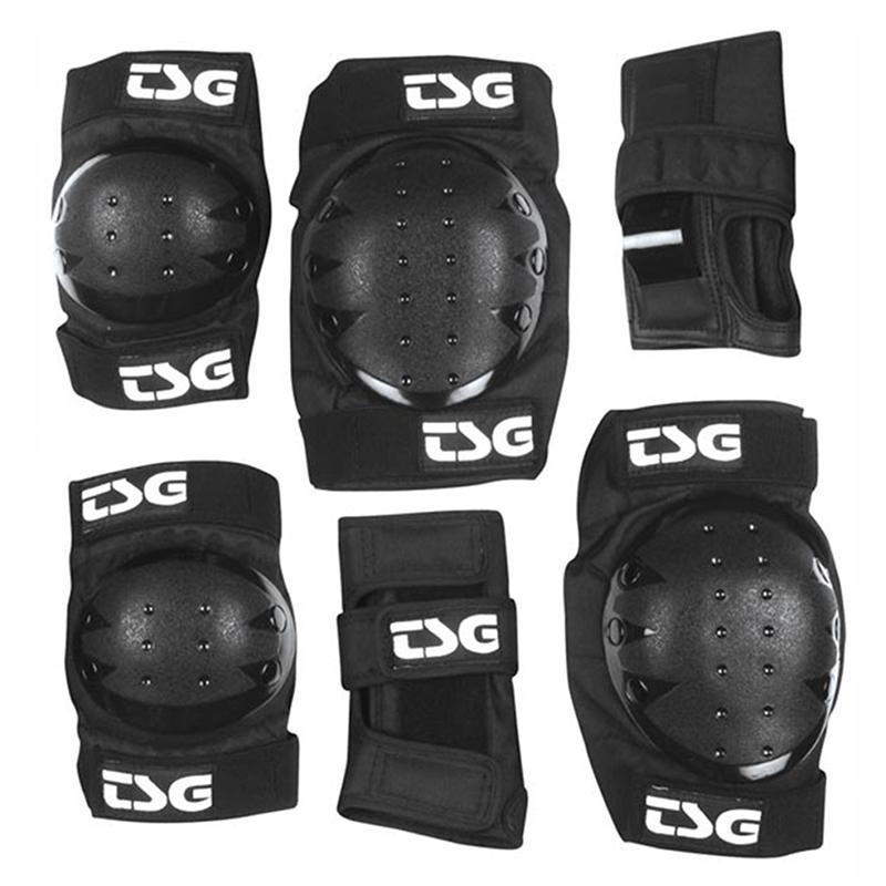 TSG Basic Protection Set Black
