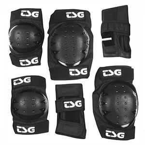 TSG Basic Protection Set Black