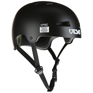 TSG Evolution Helmet Satin Black