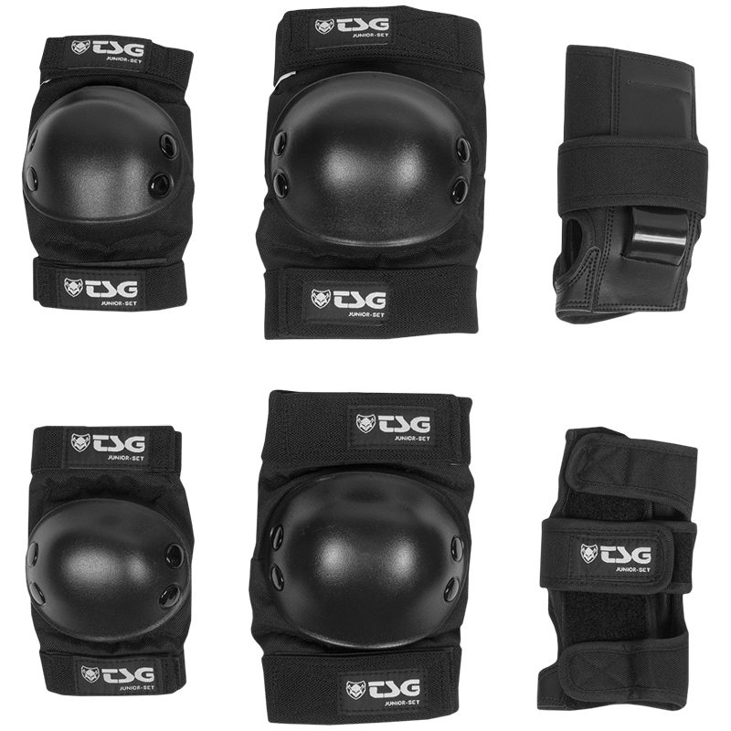 TSG Junior Protection Set Black
