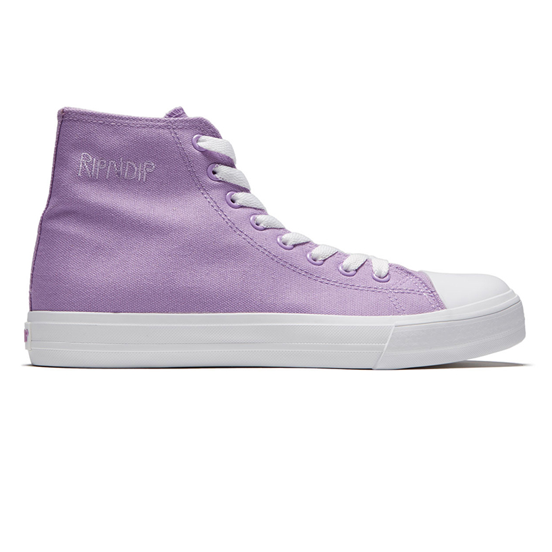 RIPNDIP Lord Nermal High Top Shoes Lavender