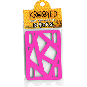 Krooked Riserpads Hot Pink 1/8 Inch