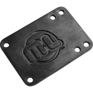 Mini Logo Riser Pad Rubber Black .10 -2-pack-