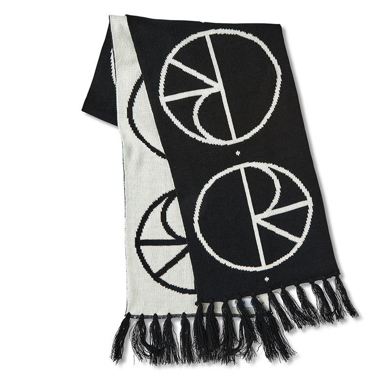 Polar Stroke Logo Scarf Black