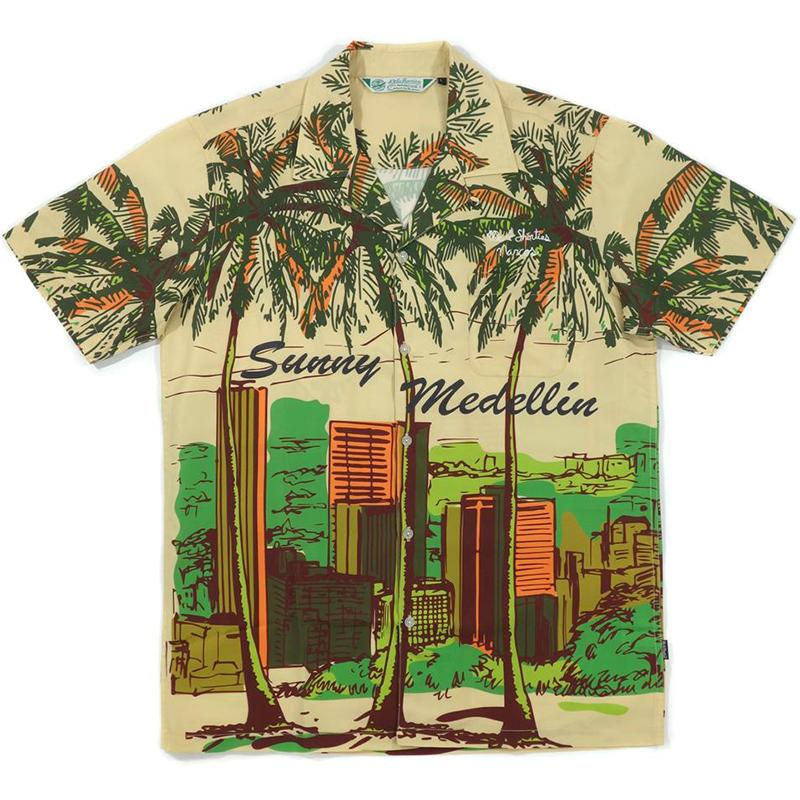 40s & Shorties x Narcos Sunny Medellin Aloha Shirt Multi