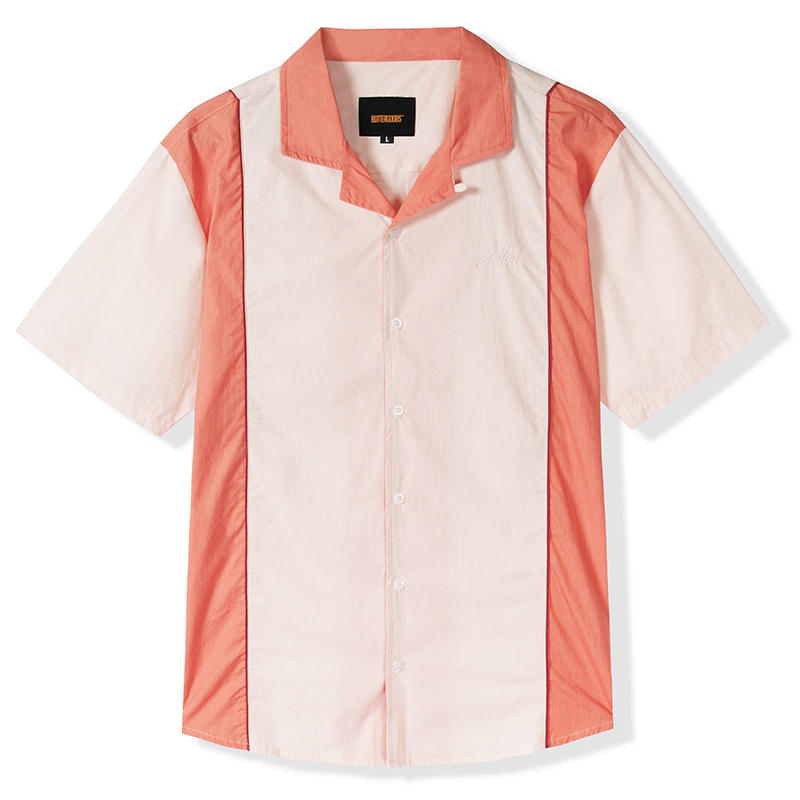 Butter Goods Cadwell Shirt Cream/Peach