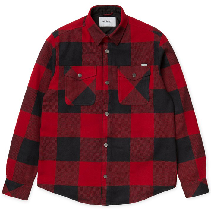 Carhartt Graham Shirt Check Blast Red