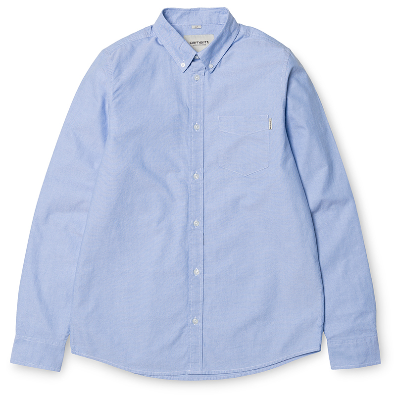 Carhartt Longsleeve Button Down Pocket Shirt Bleach